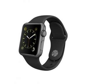 Apple Watch Sport 42mm Sportarmband in Schwarz oder Weiß (refurbished)