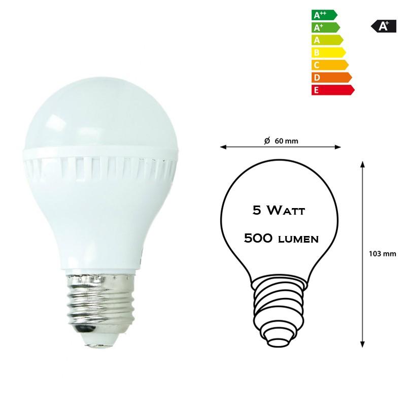 10 x E27 3W 5W 7W 9W LED LAMPE LEUCHTE GLÜHBIRNE BIRNE SPARLAMPE WARM-/KALTWEIß