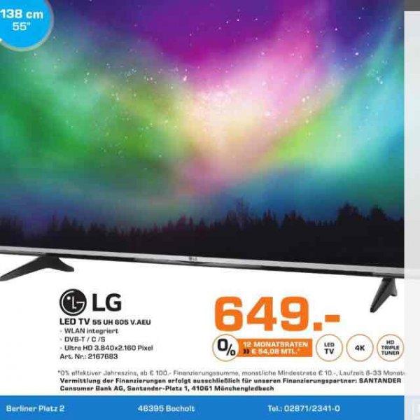 [Lokal Saturn Bocholt] LG LED Tv 55' UH 605V.AEU nur am 25.09.