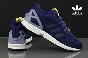 [lokal Designer Outlet NMS] Adidas ZX Flux dark blue / collegiate purple