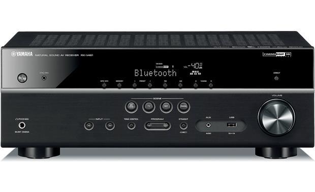 Yamaha RX-V481 5.1 AV-Receiver 4K, Bluetooth, DLNA, AirPlay, WiFi - schwarz