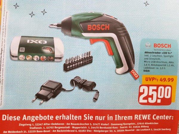 """Akkuschrauber Bosch """"Ixo V"""" bei Rewe Center"""