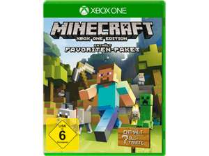 Minecraft (Favoriten-Paket) [Xbox One] für 20€ @Media Markt [VGP:29,99€]