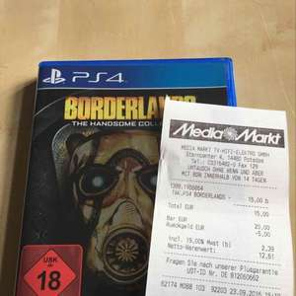 [Loka Mediamarkt Potsdam] Borderlands The Handsome Collection PS4 Playstation 4
