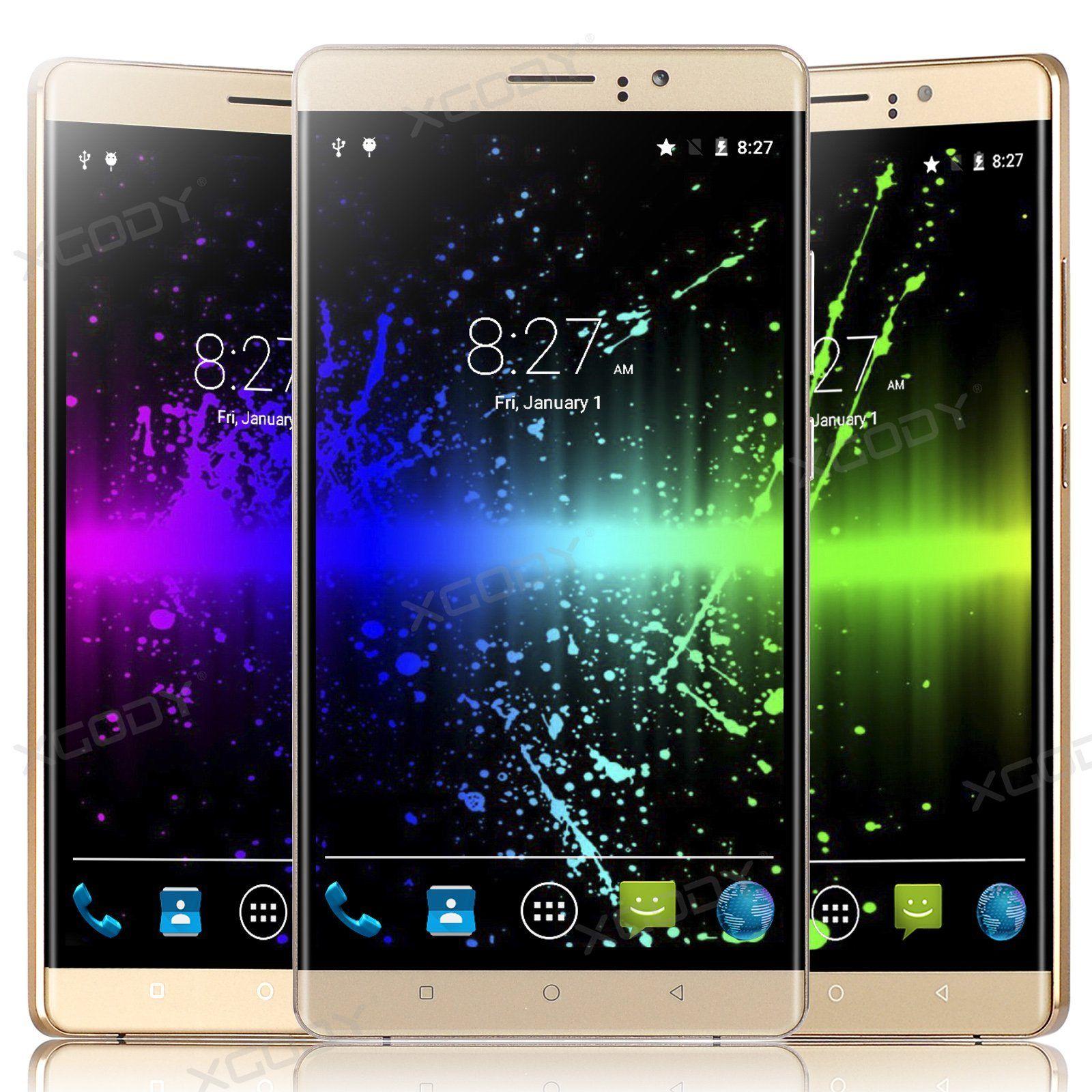 xGody Y10 Plus 6 Zoll Smartphone mit dual SIM, Quadcore Prozessor, dual SIM und 5MP Kamera (back und front) mit Versand aus DE