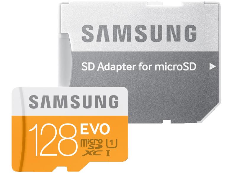 [Media Markt online ] SAMSUNG EVO 128 GB Micro-SDXC Karte