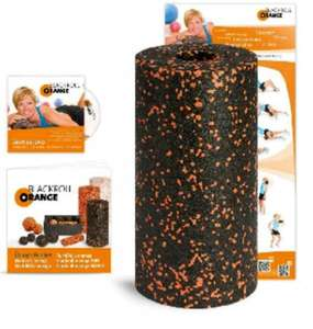 Blackroll Orange inkl. DVD, Poster und Booklet für 22,99 € [Amazon Tagesangebot]