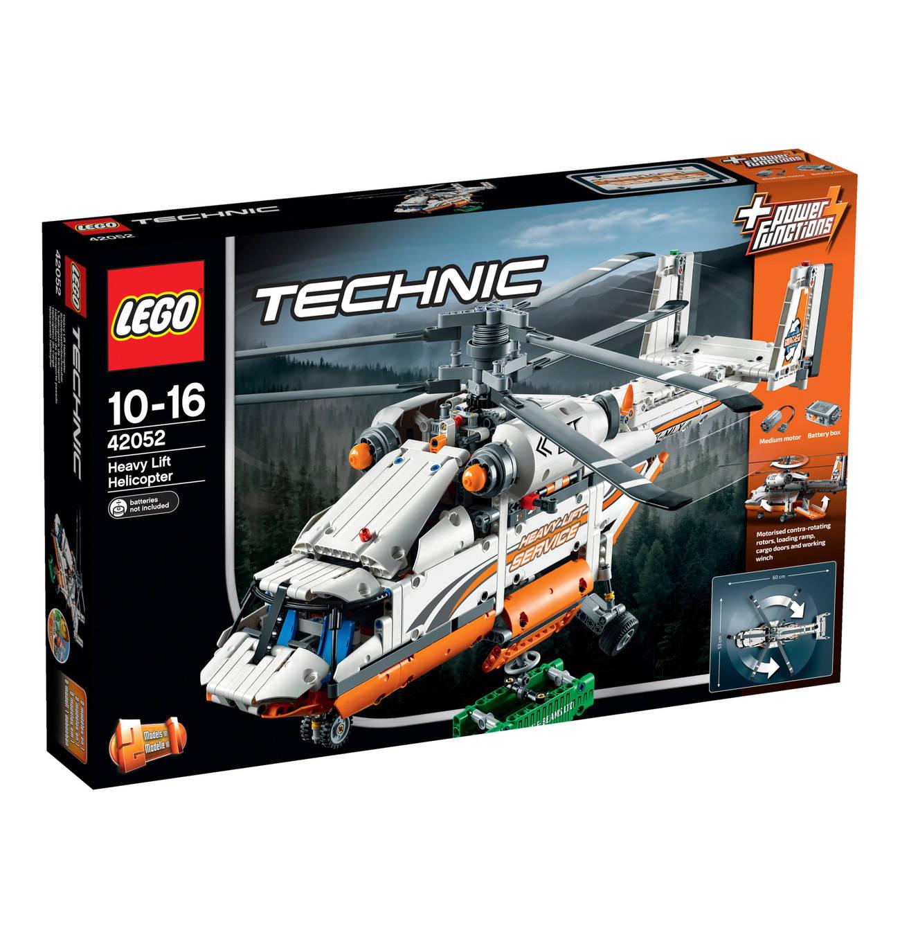 [Galeria-Kaufhof] LEGO Technic Schwerlasthubschrauber 42052