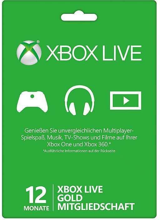 XBOX Live Gold 12 Monate Mitgliedschaft (Xbox) [Kinguin]