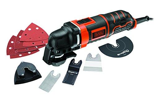 Black + Decker 300W Multifunktionswerkzeug mit Super-Lok Schnellspann-System, Staubabsaugung, 11-tlg. Zubehörset für 60€ inkl. Versand @Amazon.fr