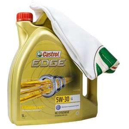 [Ebay] Castrol EDGE 15669E TITANIUM FST LL 5W-30 5 LITER + GRATIS CASTROL T-SHIRT