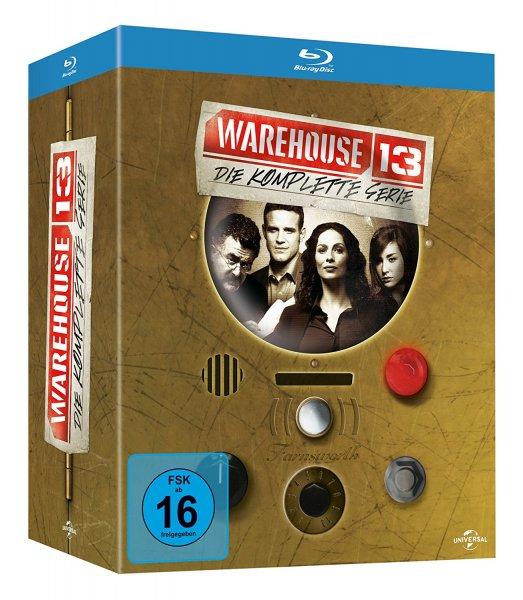 (Amazon) Warehouse 13: Die komplette Serie [16 Blu-rays] für 36,97€