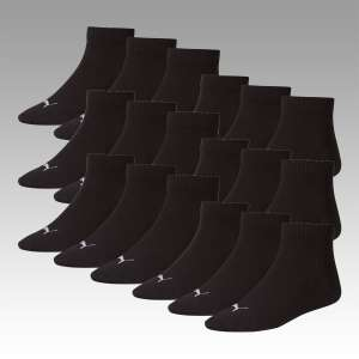 Puma Socken 18 Paar alle Varianten (Basic, Invisible, Crew) für 29,95 €