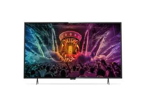 Philips 43PUS6101 108cm 4K Ultra HD LED Fernseher Smart TV USB Recording DVB-T2