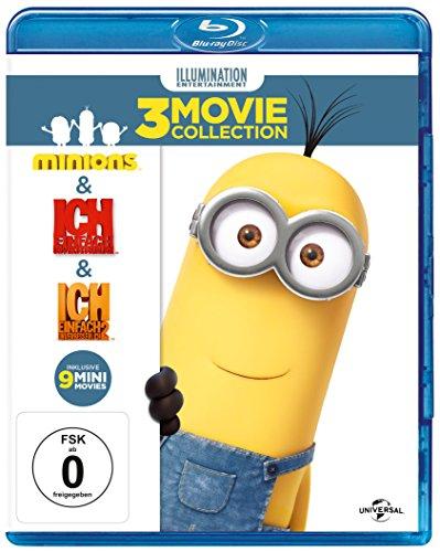"""Minions 3 Movie Collection: """"Minions"""" + """"Ich - Einfach unverbesserlich"""" + """"Ich - Einfach unverbesserlich 2"""" + 9 Mini-Filme für 16,97€ [Amazon Prime]"""