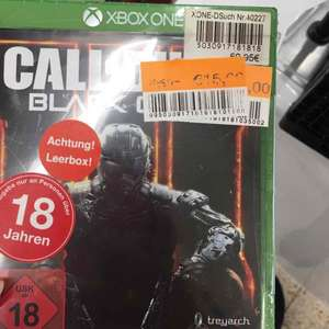 Lokal Henstedt - Ulzburg ( Real ) COD Black Ops 3 Xbox One 15,-
