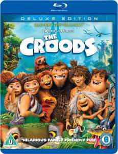 (Zavvi) Die Croods [3D Blu-ray] [Deluxe Edition] für 6,05€