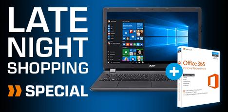 ACER Aspire ES 15 (ES1-571-37DA), Notebook mit Core™ i3 Prozessor, FHD, 4 GB RAM, 1 TB HDD, Intel® HD Graphics 5500 inc. Office 365 für 329,-€ VSK Frei [Saturn]