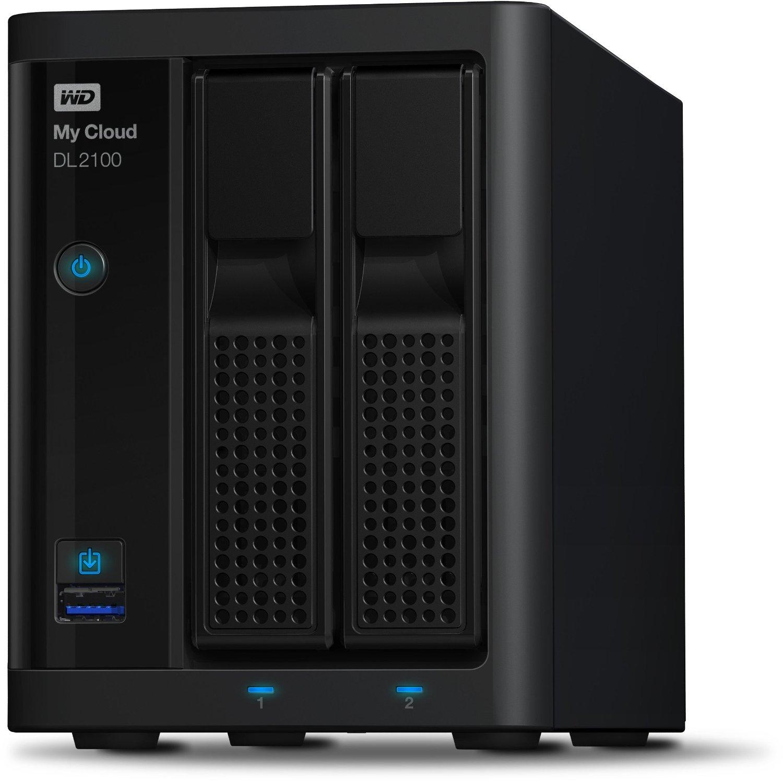 [Media Markt] WD WDBBAZ0040JBK-EESN My Cloud DL2100 4 TB für 319,00 € (PVG 395,00 €) EDIT: Ab 16 Uhr dank 15 % Gutschein 270,30 €