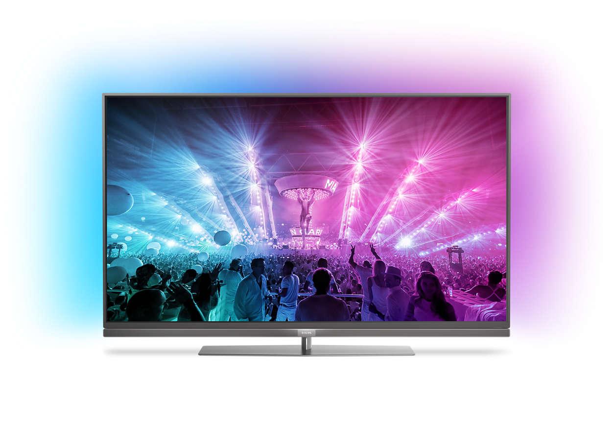[Ebay-Deltatecc] Philips 55PUS7181/12, 4k TV, 3-seitiges Ambilight, Adroid-TV