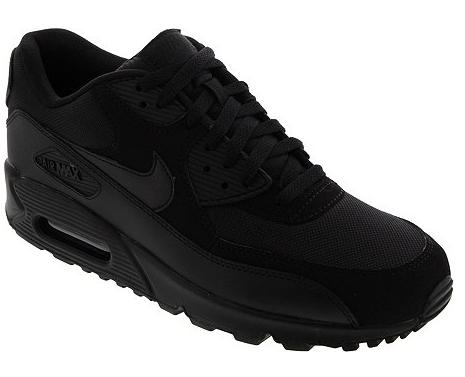 Nike Air Max 90 Essential black für 69,99€ bei Runnerspoint