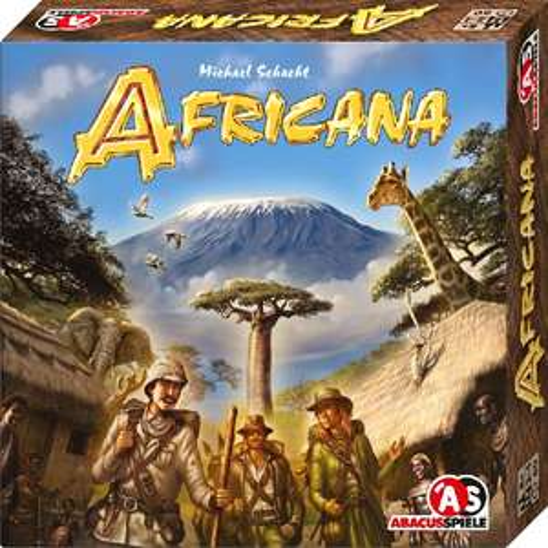 [Milan-Spiele] Africana (Abacusspiele) für 15,90€ + Versand statt 24,09€