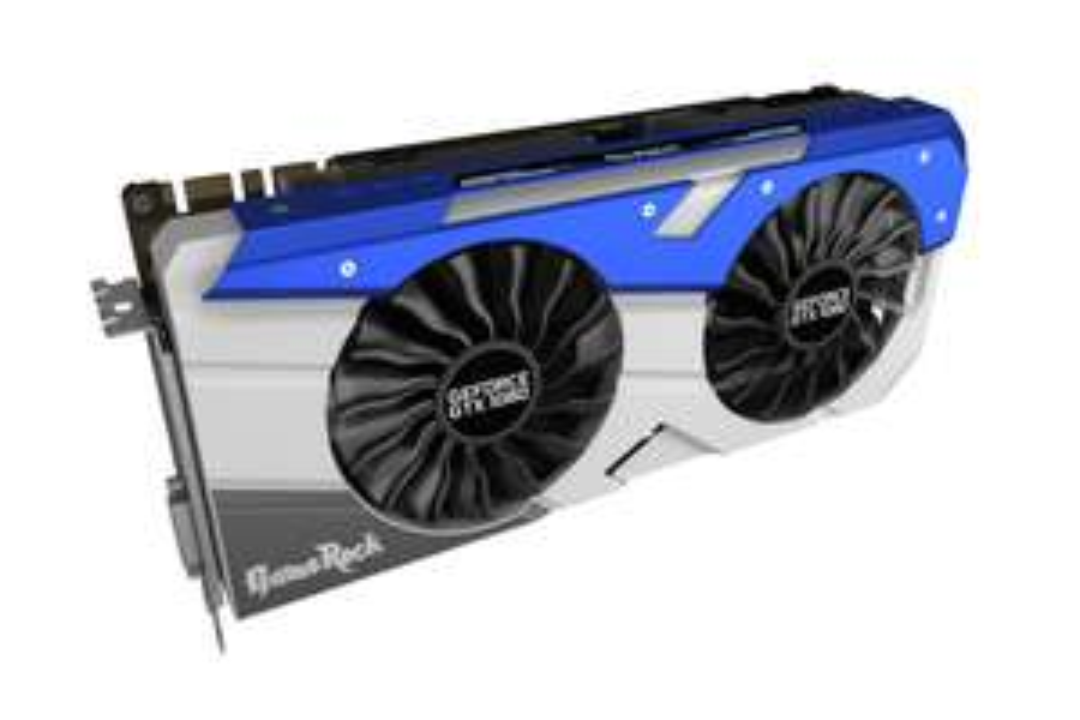 Palit GeForce GTX 1080 GameRock, 8192 MB GDDR5X für 628,89 Euro @ Caseking.de