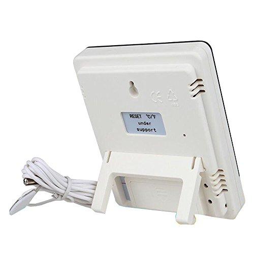 Irmessi Outdoor und Indoor-Digital-Thermometer und Hygrometer Wetterstation Luftfeuchtigkeit und Temperaturmonitor [Amazon Prime]