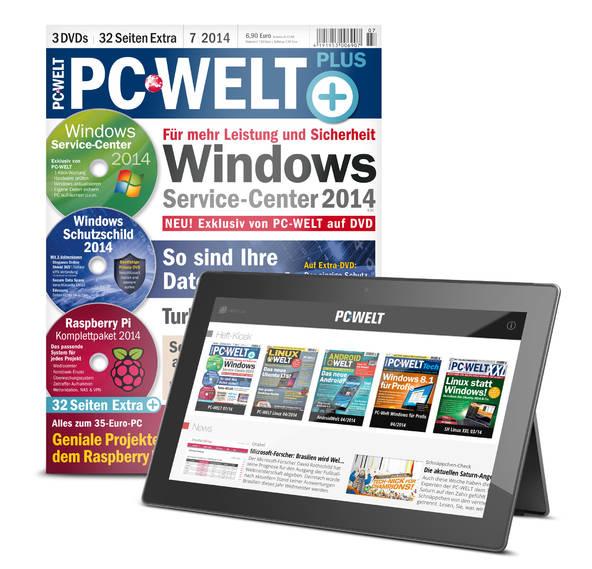 (Print+Digital) PC-WELT Plus kostenloses Probeheft. Kündigung notwendig