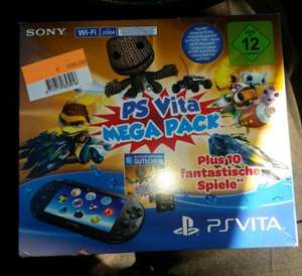 [Lokal Real Mülheim a.d.R.] PS Vita Slim (PCH-2004) inkl. 8GB Memory Card und Spiele