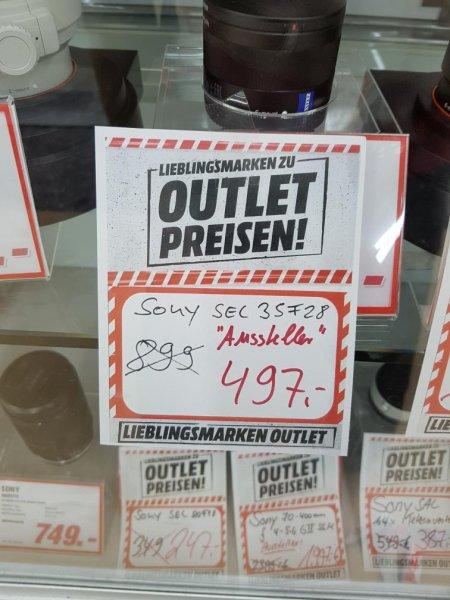 Outletverkauf  Lokal Mediamarkt Freiburg