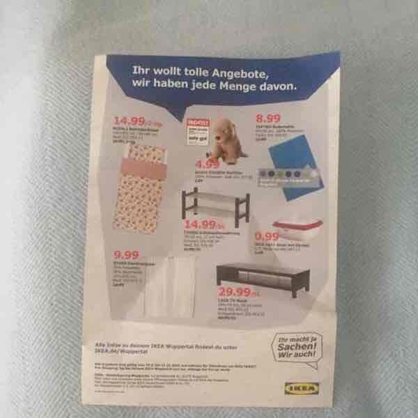 IKEA Neueröffnung Wuppertal 29.9 Angebote