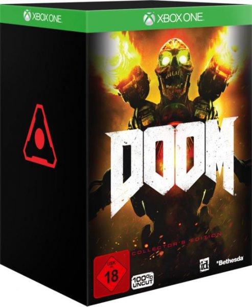 Doom Collectors Edition (Xbox One) 54,99€ inkl. Oder 49,99€ offline (auch PS4) @ Gamestop