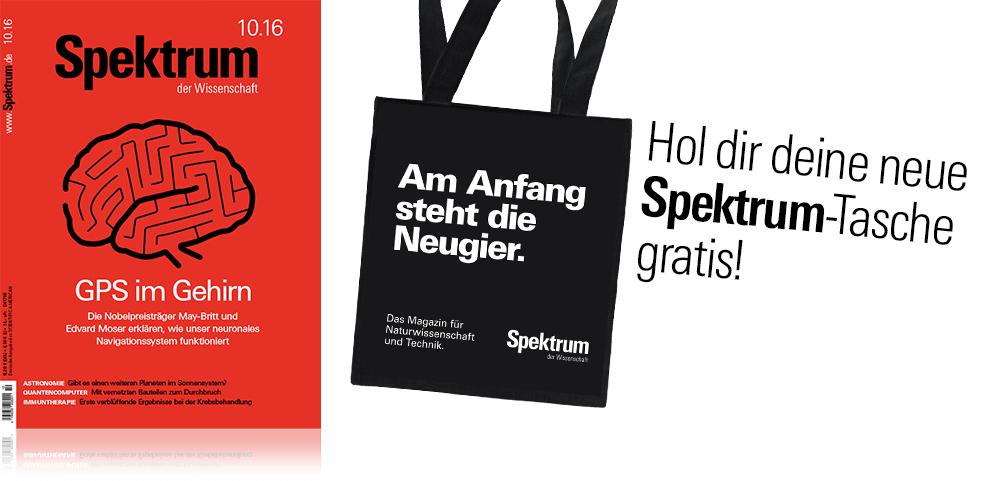 Spektrum der Wissenschaft Tragetasche for free