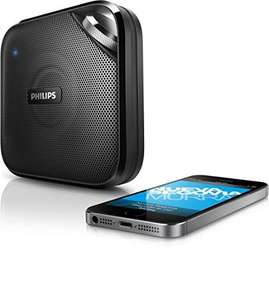 PHILIPS BT2500B/00 Bluetooth-Lautsprecher mit Mikrofon 3W @Amazon