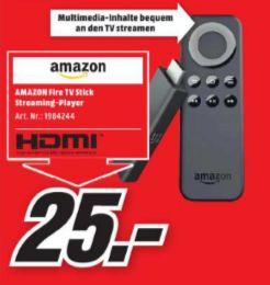 [Lokal Mediamarkt Ravensburg ab 28.09/19.00 Uhr] Amazon Fire TV Stick für 25,-€