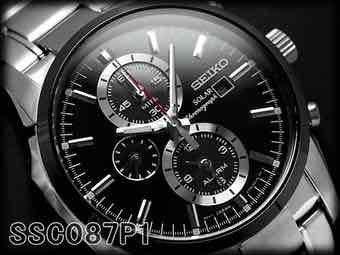 Seiko Solar Chronograph SSC087P1 [iBOOD]