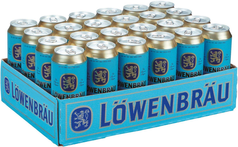 Amazon Tagesangebot: verschiedene Biere - z.B. 24 x 0,5 Löwenbräu (Becks, Franziskaner, Diebels Altbier)