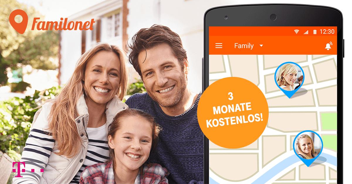 Familonet App 3 Monate gratis testen [für Telekom Kunden]