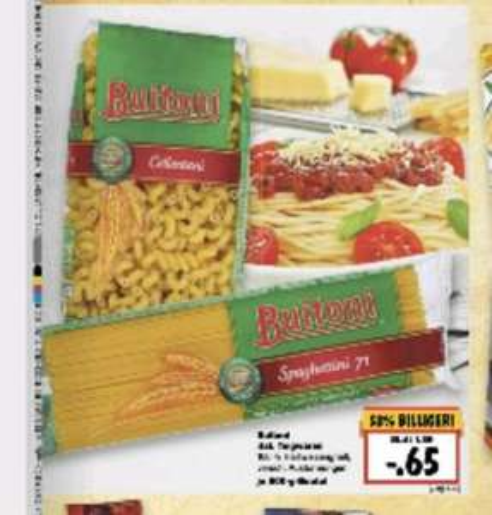 Buitoni Nudeln 0,65 Euro bei Kaufland