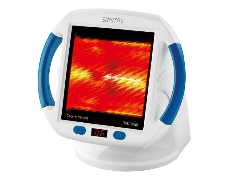 [LIDL Online] Sanitas SIL 45 Infrarot-Wärmestrahler (300W) zur Anwendung bei Erkältungen & Verspannungen