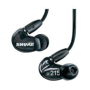 Shure SE215 Sound Isolating Earphones - Black