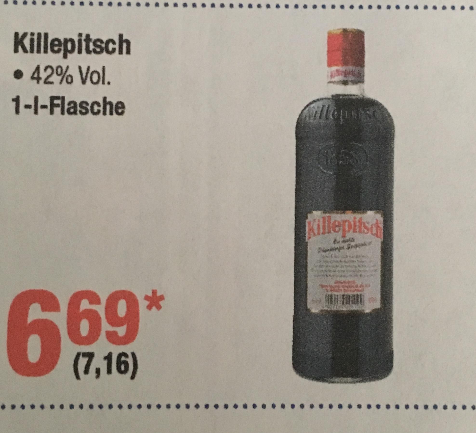 [lokal?] [Metro Koblenz] Killepitsch 1l nur 7,16€!