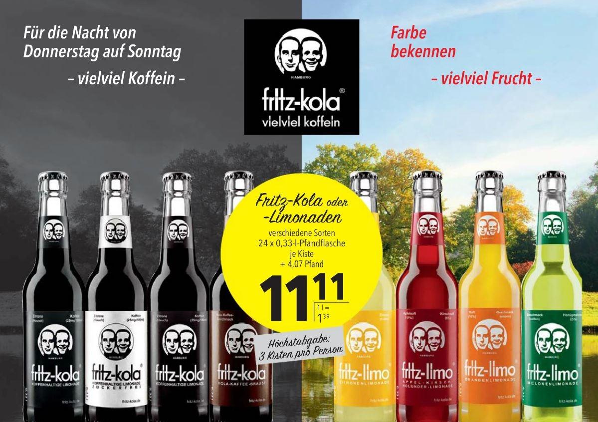 Citti Märkte - Kiste Fritz Kola 24 x 0,33