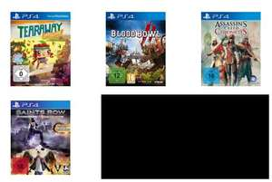 [Saturn] PS4 Spiele...Tearaway: Unfolded / Blood Bowl 2 / Saints Row IV: Re-elected + Gat Out of Hell / Assassins Creed Chronicles für je 10,-€ bei Abholung