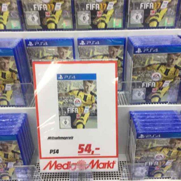 FIFA 17 / 54€ / Lokal im Media Markt Trier