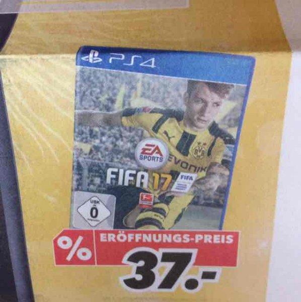 FIFA 17 (PS4) für 37€ [Medimax Strausberg]