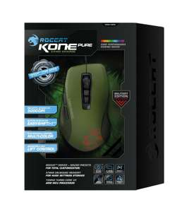 "Roccat™ - Gaming-Maus ""Kone Pure Military Camo Charge"" (5000dpi,USB,7 Tasten,LED-Sensor) [B-Ware] ab €27,93 [@Allyouneed.com]"