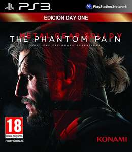 Metal Gear Solid V: The Phantom Pain - Day One Edition (PS3) für 12,67€ bei Amazon.es