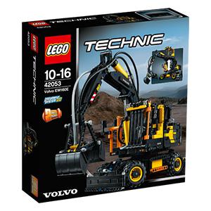 LEGO 42053 Technic: Volvo EW160E für 58,99 inkl. Versand + 10fach Payback Punkte / Schauferadbagger 184€ / Claas 104€ [REAL]